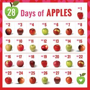 #28DaysofApples
