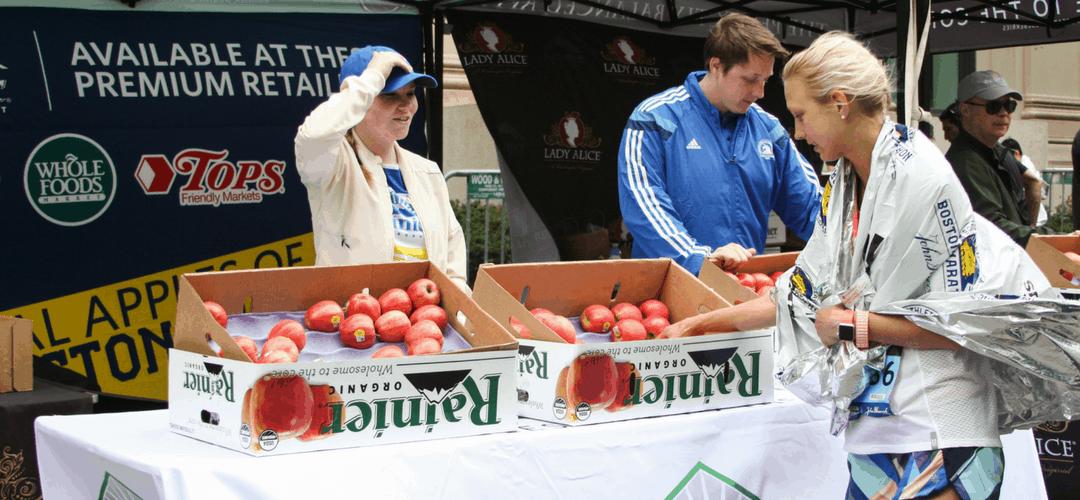 Rainier Fruit Reflections of the Boston Marathon
