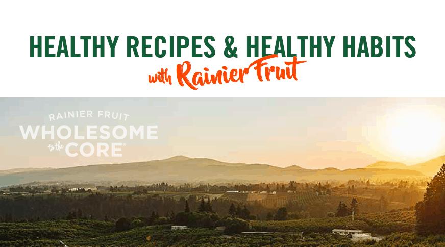 Rainier Fruit Healthy Tips and Recipes Ebook Download!